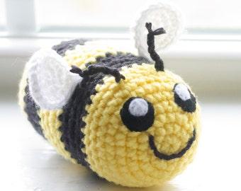 Bumble bee Stuffed Animal - Custom Made Bumble bee - Crochet Bumble bee