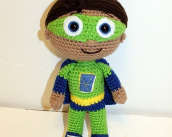 PDF PATTERN: Reading Buddy inspired by Wyatt from Super Why
