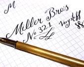 Vintage Miller Bro's 321 Dip pen nib