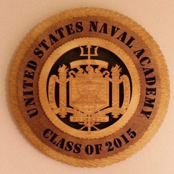 US Naval Academy Graduation Wall Medallion
