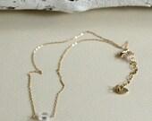 Clear Pendant-CZ Necklace...