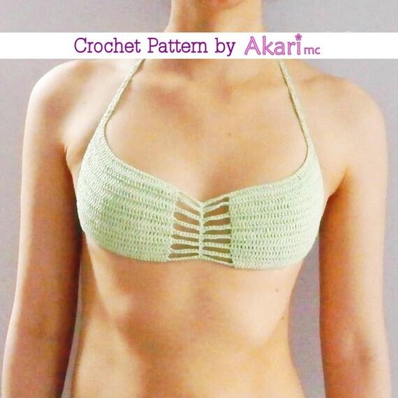 All you Crochet bikini top pattern means you