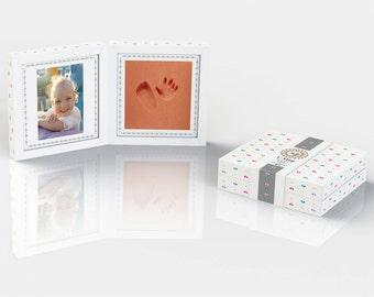 Pictureframe - Baby's 1st Step - babyfootprint kit