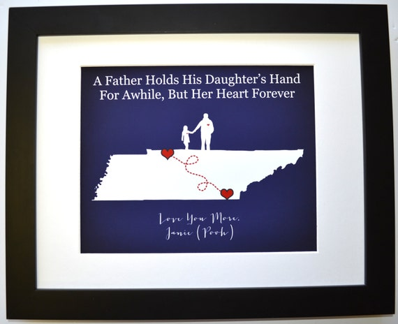 Personalized Gift For Dad From Daughter Son Children By