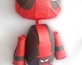 Awesome Deadpool Rag Doll Pinata