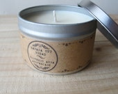 Banana Nut Bread // 8 oz. Natural USA Grown Soy Candle