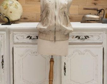 Marc Jacobs Authentic Leather Vest