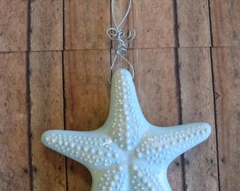 Nautical Blue Hanging Starfish