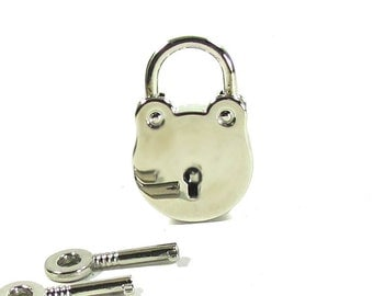Padlock, with working keys, pad lock