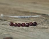 Base Chakra, Garnet, Root Chakra, 1st Chakra, Gemstone Therapy, Yoga Bracelet, Meditation Bracelet, Reiki, Wish Bracelet