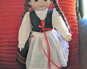 Antique Reproduction Porcelain Doll Googly - German Kestner JDK 221