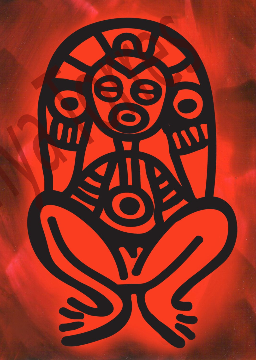 Atabey Mother Goddess Of The Taino