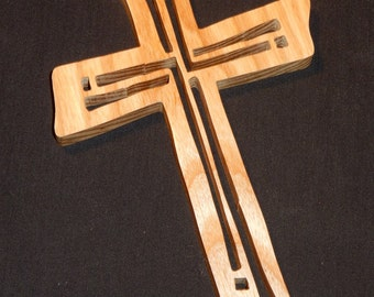 Handmade Rectangle Cross (Ash)