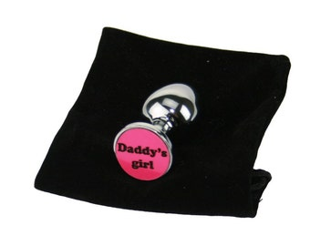 Adult baby butt plug and nappied