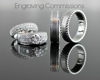 Engraving Service - Rings & Bands Only