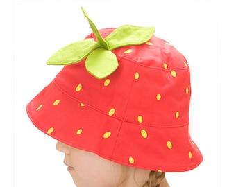 Strawberry sunhat
