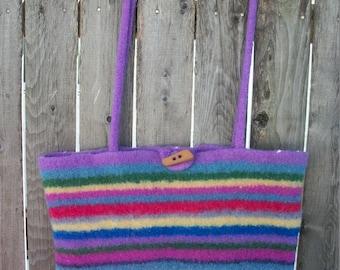 Felt bag / Felt Wool Purse/Tote Bag