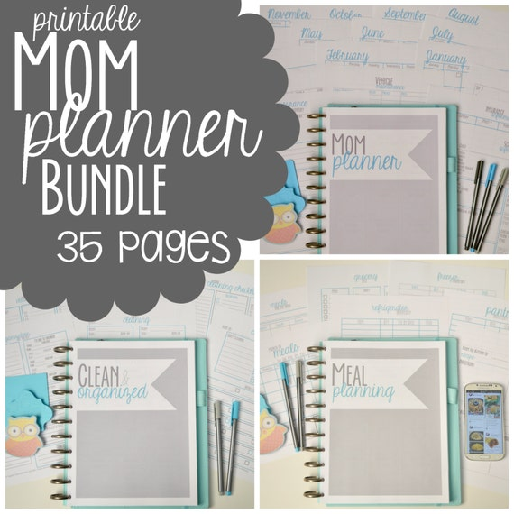 Persnickety image with regard to mom planner printable