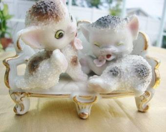 Ceramic Kittens by NC