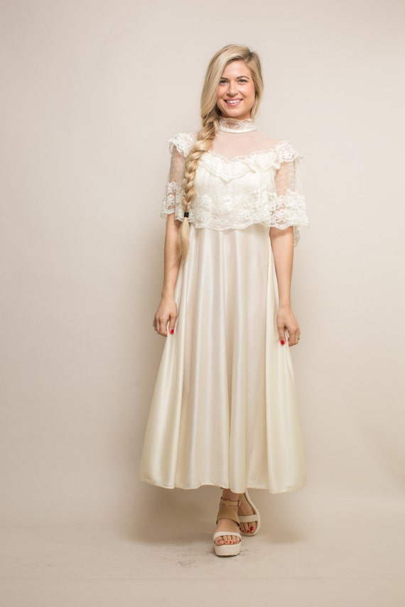 Vintage Boho Wedding Dress