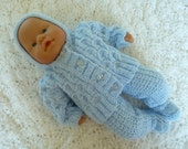 """RESERVED for Thereza Hand knitted Outfit for 12""""-14"""""""