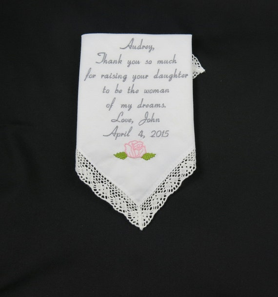 Great Wedding Gifts From Groom To Bride : Wedding Gift to Mother of the bride from Groom personalized ...