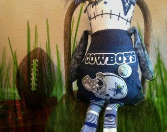 Dallas Cowboys Doll Etsy