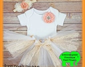 Items similar to Baby Girl Rustic Dress Vintage