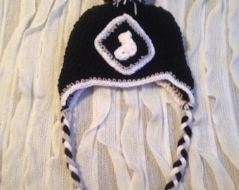 Chicago White Sox Hat, Crochet Hat, Any Size, White Sox Hat, Sox Hat, Chicago White Sox Gear, Sox Accessories, Chicago White Sox, Winter Hat