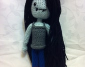 Crochet Adventure Time Marceline Inspired Collectible Plush Doll- FREE SHIPPING