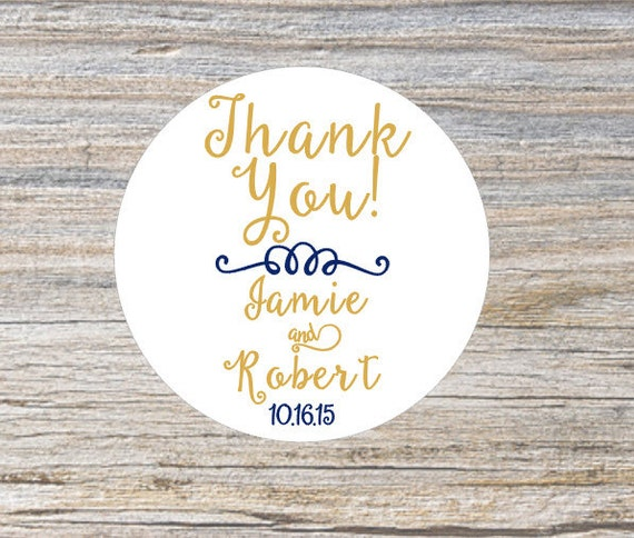 custom wedding favor stickers thank you stickers wedding stickers