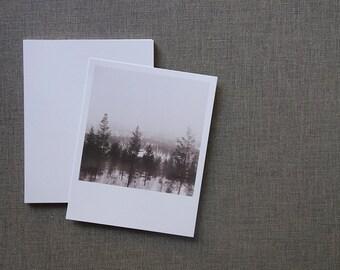 Oslo to Bergen by Train Journey Print - Polaroid Style