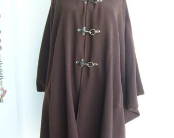 Hood capote woolen/robin hood pelerine winter
