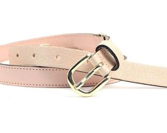 Slim waist belt women fashionable summer leather belt