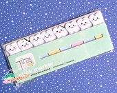 Cute Tooth Sticky Notes - Post-it notes, kawaii sticky memo, tooth fairy, scrapbooking, decay teeth