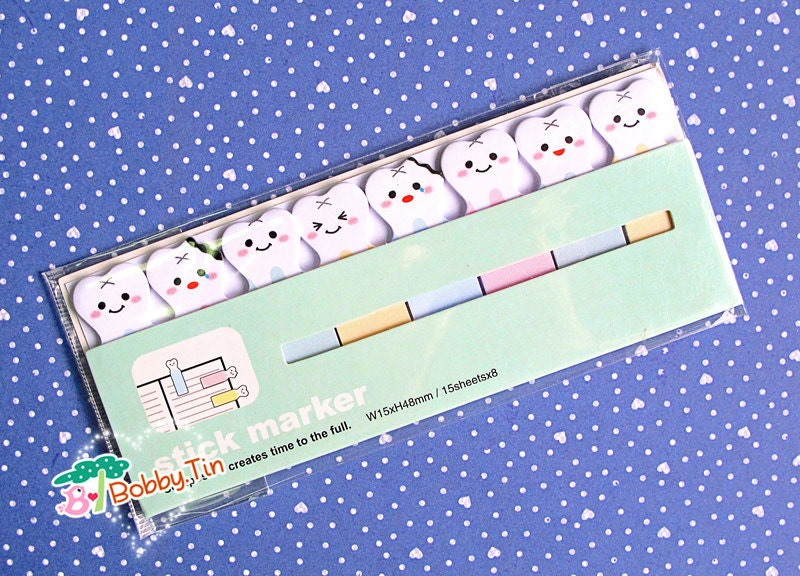 Notes Tooth Cute Tooth Sticky Notes