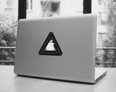 """Infinite triangle macbook pro and air iPad stickers decal for 11,13,15,17"""""""