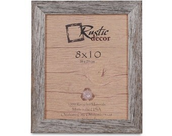 8x10 15 wide rustic barn wood standard photo frame