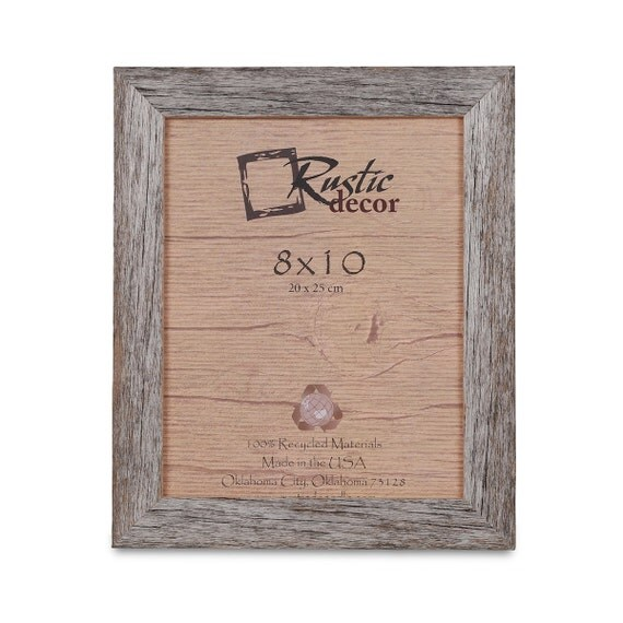 "Rustic Wooden 8"" x 10"" Picture Frame"