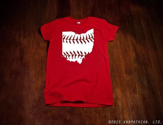 Ohio baseball Ladies junior fit t-shirt