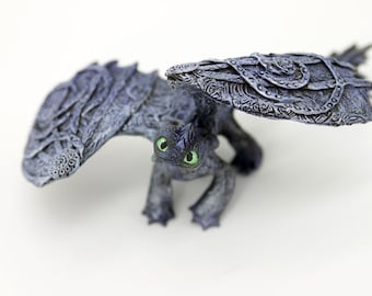 how to train your dragon 2 toothless statue