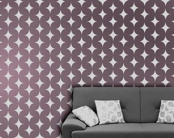 modern wall stencils, Moroccan pattern, stencils, modern wall painting stencils, paint stencils