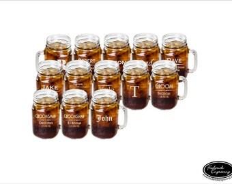 13 mason jar glasses ships fast custom mason jar drinking glasses engraved - Mason Jar Drinking Glasses