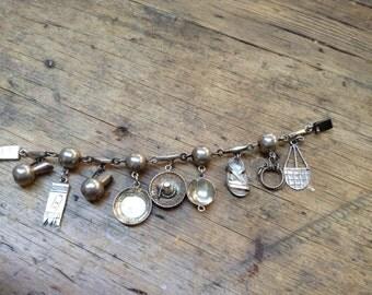 Mexican Vintage Charm Bracelet