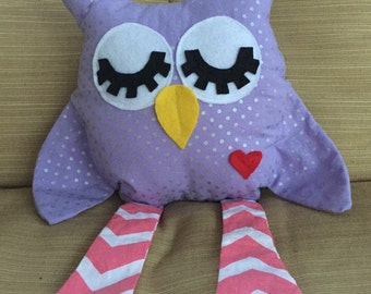 Plush Olive the Owl - Spring/Easter Collection