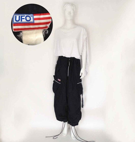 The U F O  90   s Nautical Navy Normcore Rave Flight  Cargo  Parachute