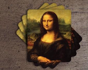 Mona Lisa Coaster Set