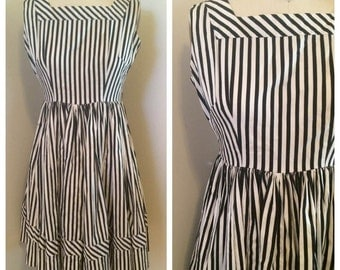 Pink Yokosuka Vintage Striped Dress