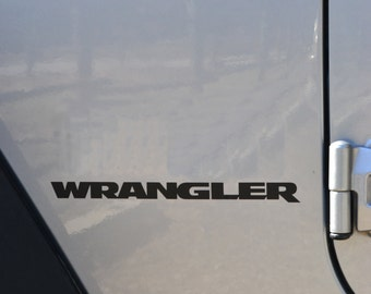 Jeep Wrangler JK Replacement Stock Logo 2pc Set