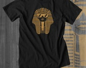 Egyptian Shirt King Tut Funny tshirts Plus Sizes Afrocentric Clothing African Clothing African Attire African Wear African Shirt Kwanzaa